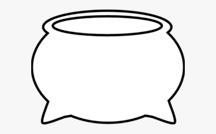 Pot Of Gold Outline, Transparent Clipart