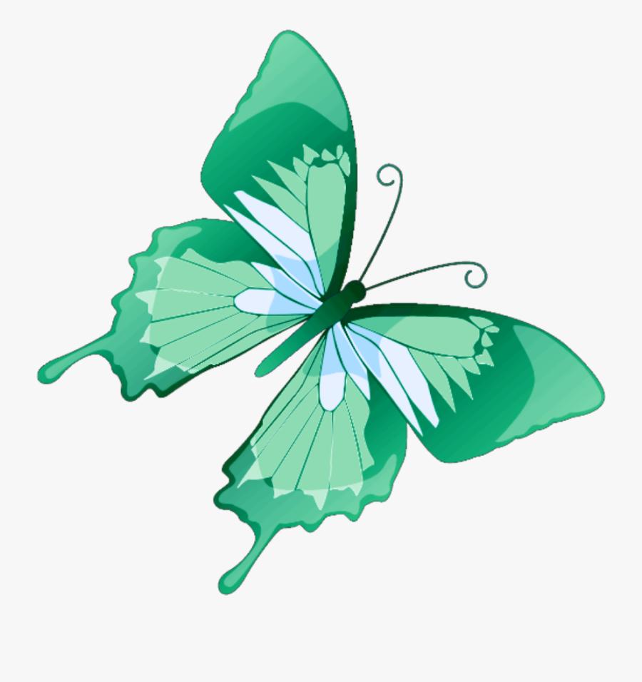 Transparent Mariposa Clipart - Transparent Background Translucent Butterfly Clipart, Transparent Clipart