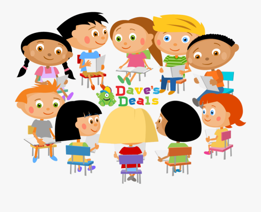 Affordable And Great Value Children Books - Clip Art Class Meeting, Transparent Clipart