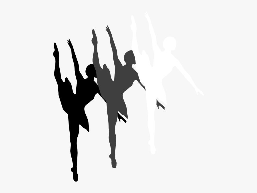 Dance Clipart Png - Ballet Dancer Silhouette, Transparent Clipart