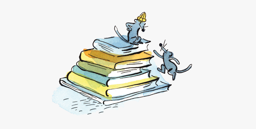 Librarian Clipart Book Rack - Cartoon, Transparent Clipart