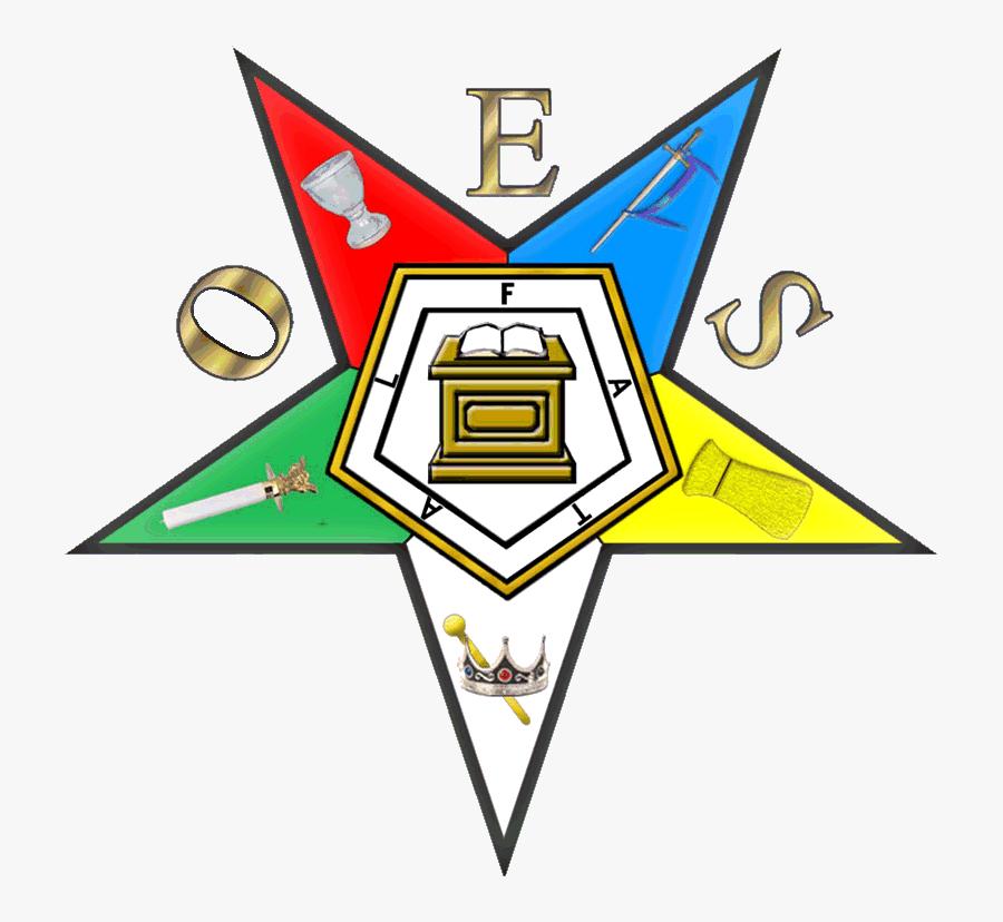 Clip Art Eastern Star Logo Clip Art - Order Of The Eastern Star Logo, Transparent Clipart