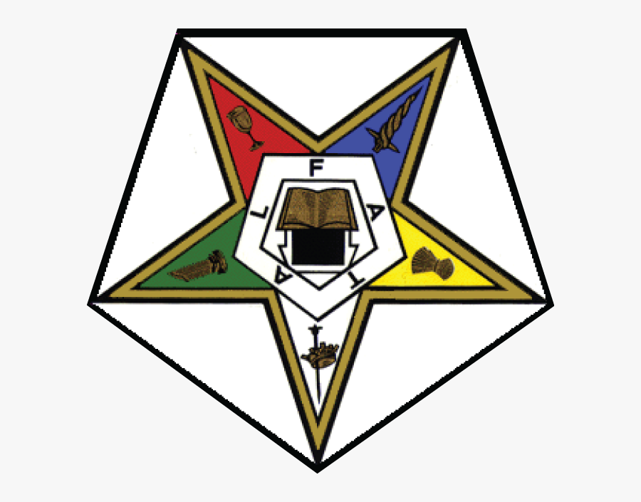 Transparent Prince Hall Oes Clipart - Order Of The Eastern Star Logo, Transparent Clipart