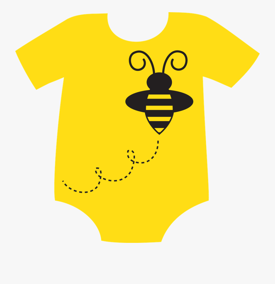 Yellow Baby Clothes Clipart, Transparent Clipart