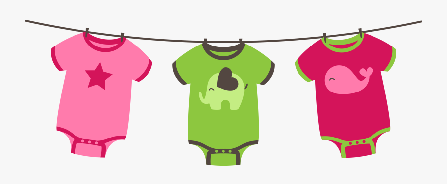 Product,infant & Toddler Clothing,pink,baby Art,top - Baby Shower Decor Png, Transparent Clipart