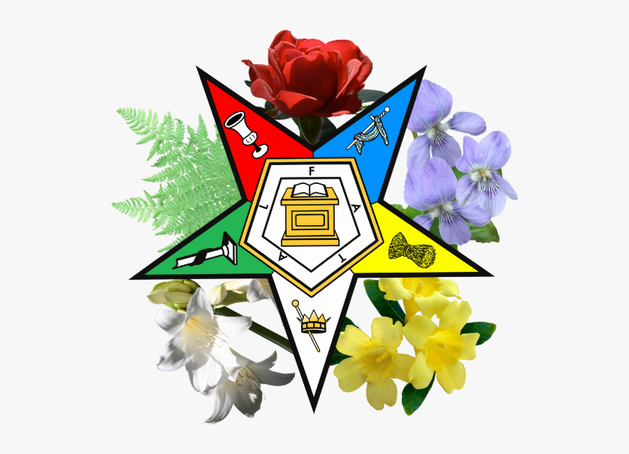 Order Of The Eastern Star Png, Transparent Clipart