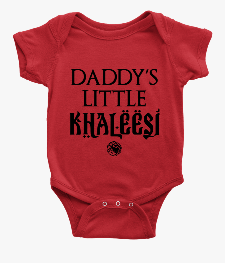 """Daddy""""s Little Khalessi - Karl Marx Baby Clothes, Transparent Clipart"""