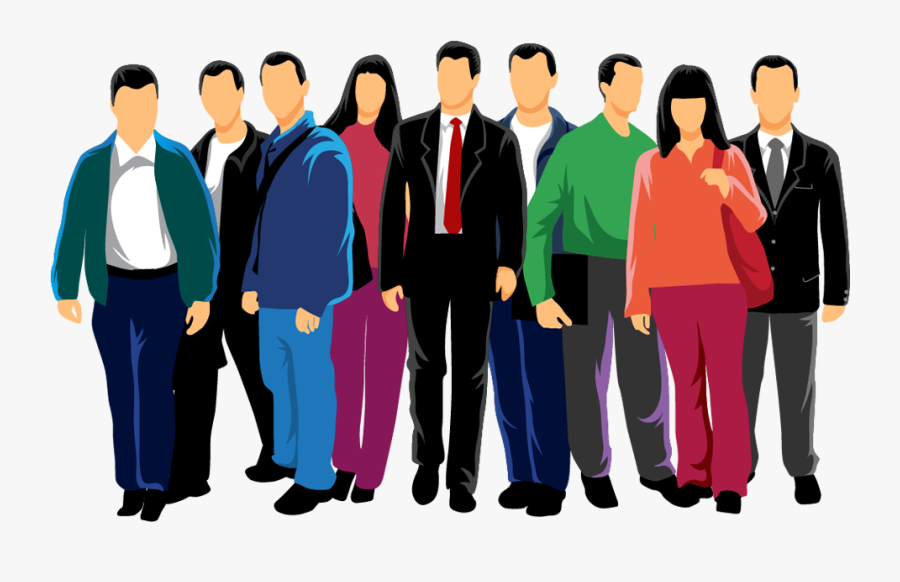 People Clipart Entrepreneur - Group Of People Vector Png, Transparent Clipart