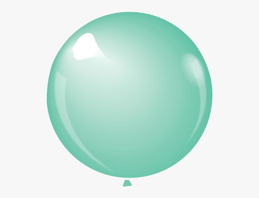 Transparent Green Balloon Clipart - Balloon, Transparent Clipart
