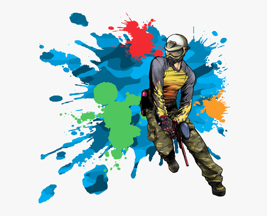 River Youth Paintball Trip - Paintball Games, Transparent Clipart