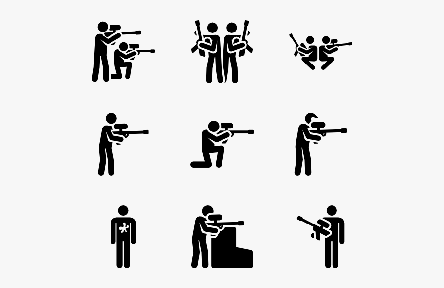 Paintball Clipart Svg - Paintball Icon, Transparent Clipart
