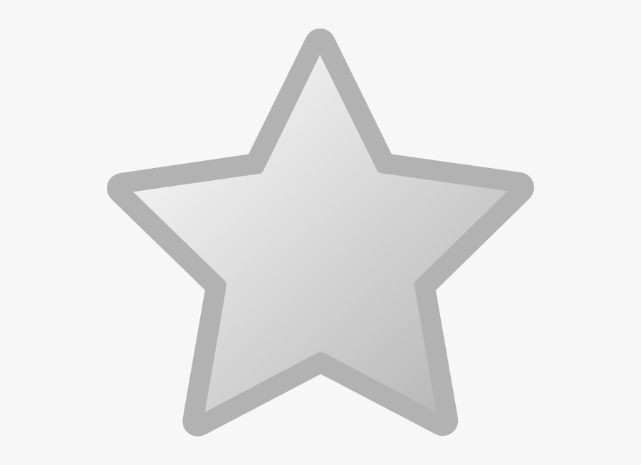 Yellow And Grey Star, Transparent Clipart