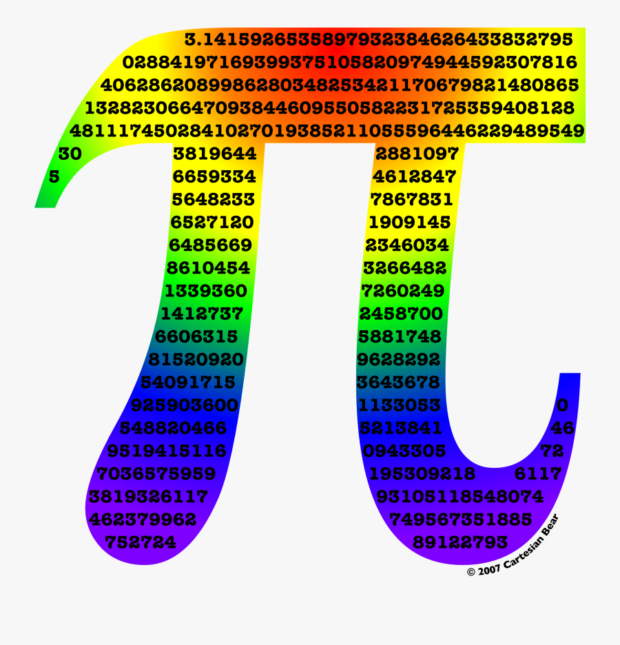 Pi Day On Clipart Library - Math Pi, Transparent Clipart