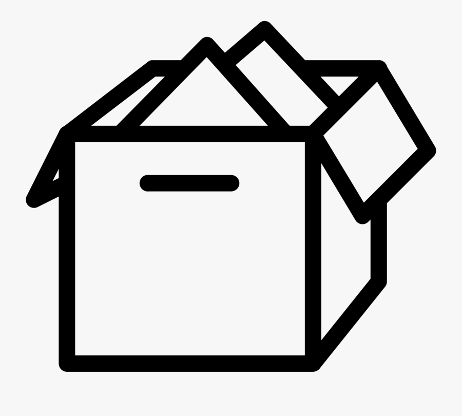 Package Vector Open Box - Icon Box Png, Transparent Clipart