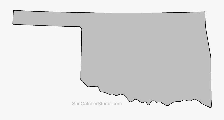 Clip Art Oklahoma Outline Clip Art - Oklahoma State Shape, Transparent Clipart