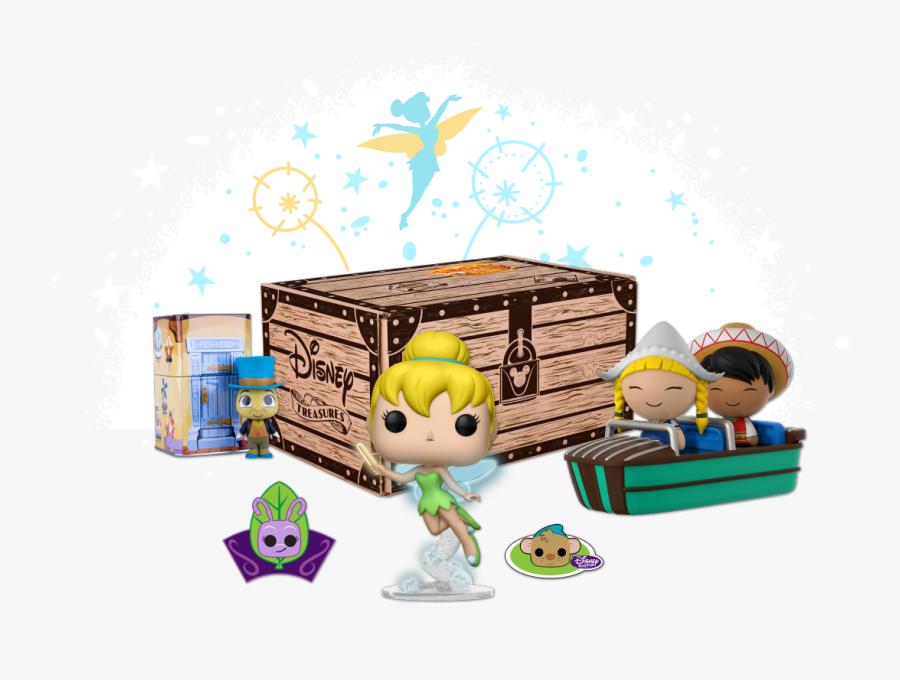 Treasure Clipart Prize Box - Funko Disney Treasure Box, Transparent Clipart