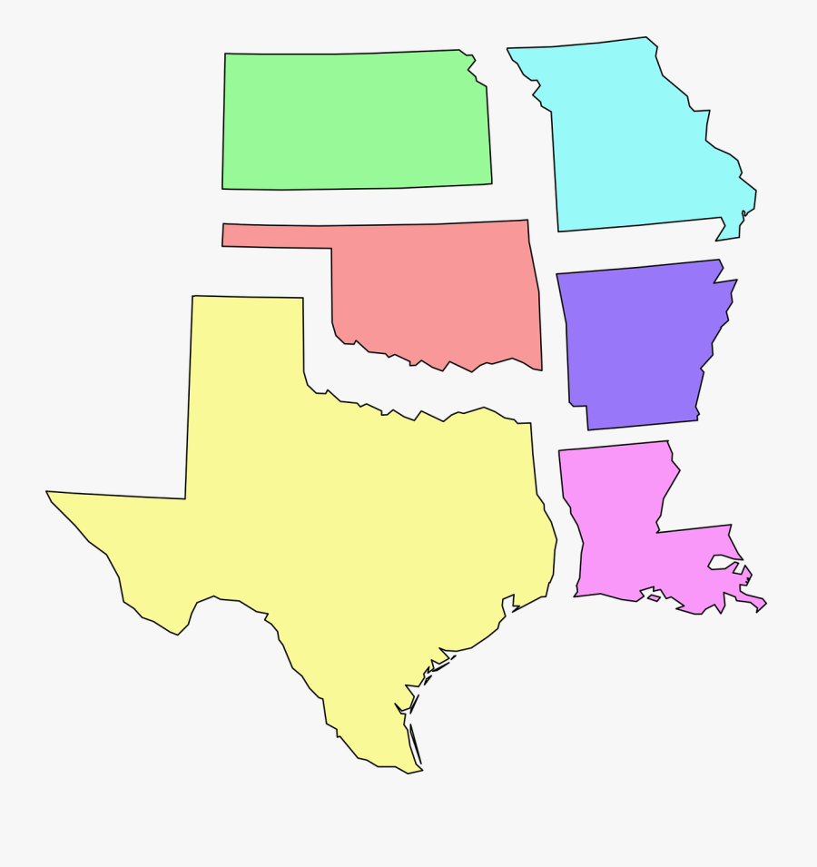 Usa, States, South Central, Map, Texas, Oklahoma - Battle Of San Patricio Map, Transparent Clipart