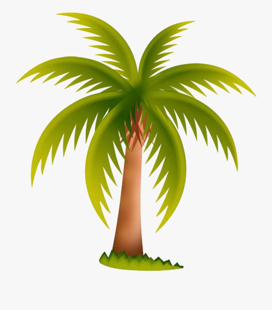 Arecaceae Date Palm Tree Clip Art - Palm Tree Clip Art, Transparent Clipart