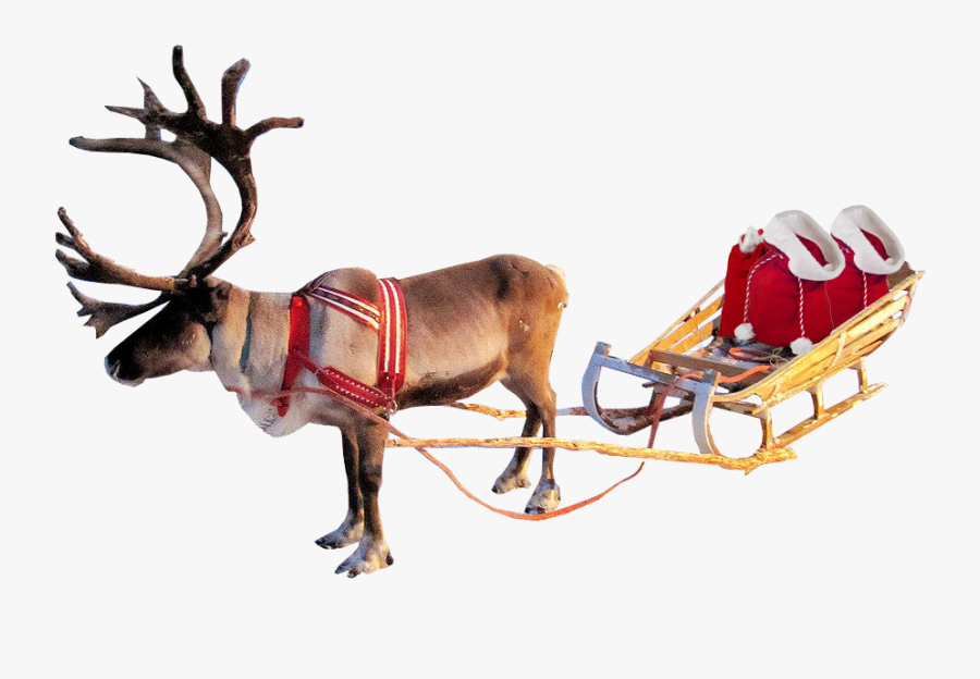 Download Free Sleigh Png Transparent Images Transparent - Santa Sleigh With Transparent Background, Transparent Clipart