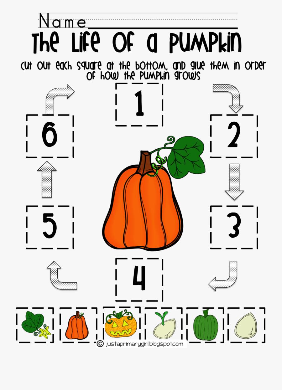 Transparent Pumpkin Life Cycle Clipart Life Cycle Of A Pumpkin Worksheet Preschool Free Transparent Clipart Clipartkey