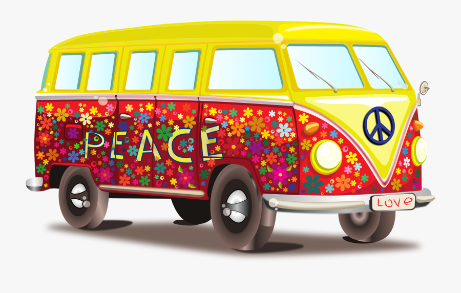 Pin By Courtney Patterson - Peace And Love Car, Transparent Clipart