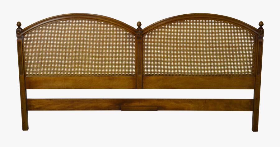 Transparent Walnut Clipart - Bed Frame, Transparent Clipart