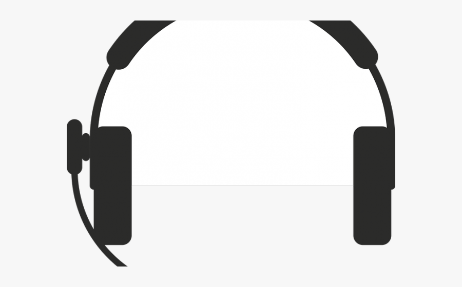 Call Center Headphones Vector, Transparent Clipart