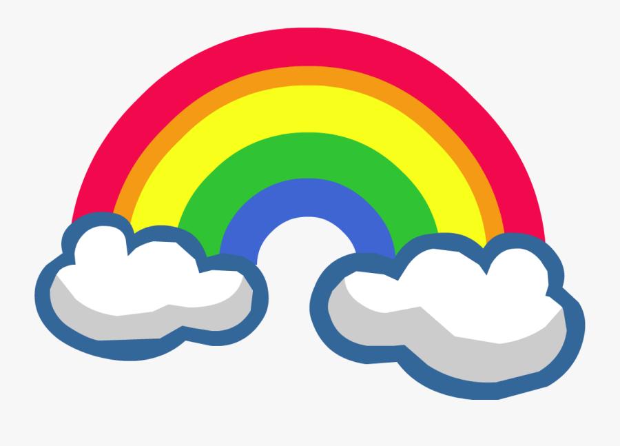 Rainbow Clipart Fire - Rainbow Clipart Png, Transparent Clipart