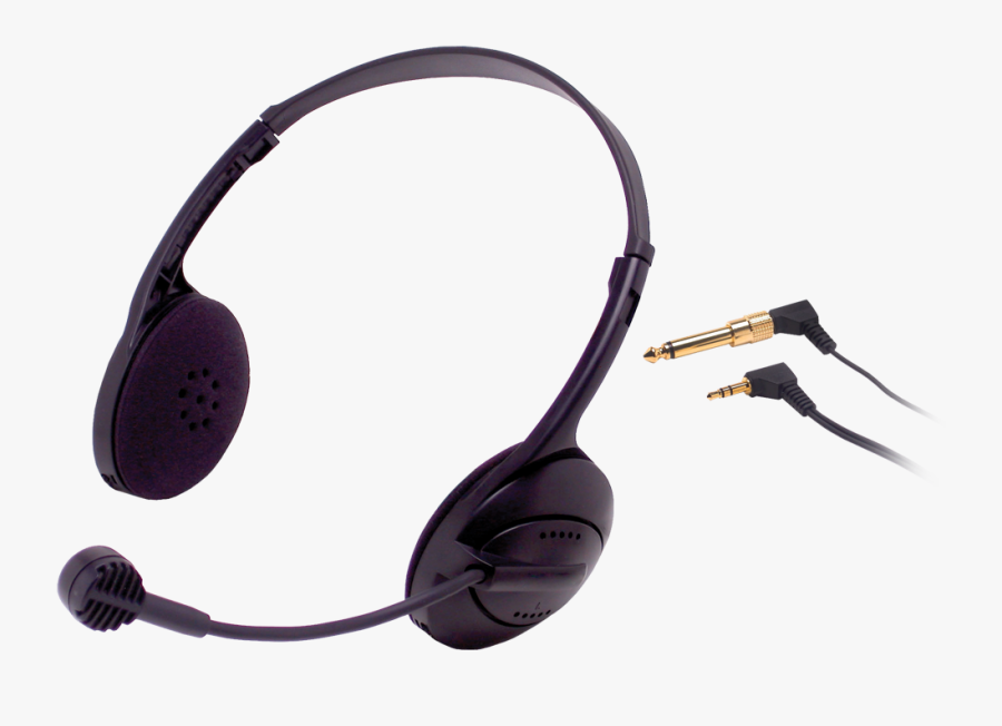 Transparent Gaming Headset Clipart - Headset Microphone, Transparent Clipart