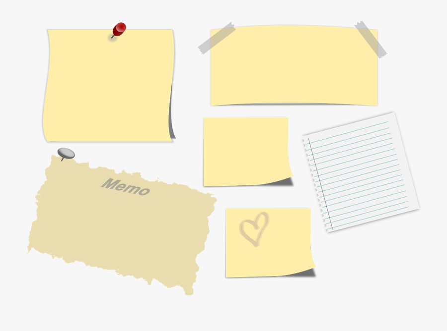 Memo Sticky Note Post-it Note Png Image - Sticky Note Paper Png, Transparent Clipart