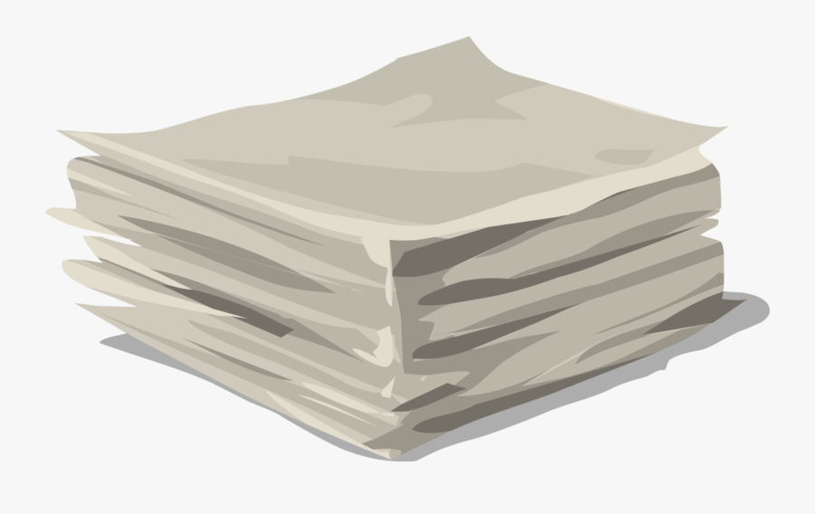 Pile Of Papers Transparent, Transparent Clipart