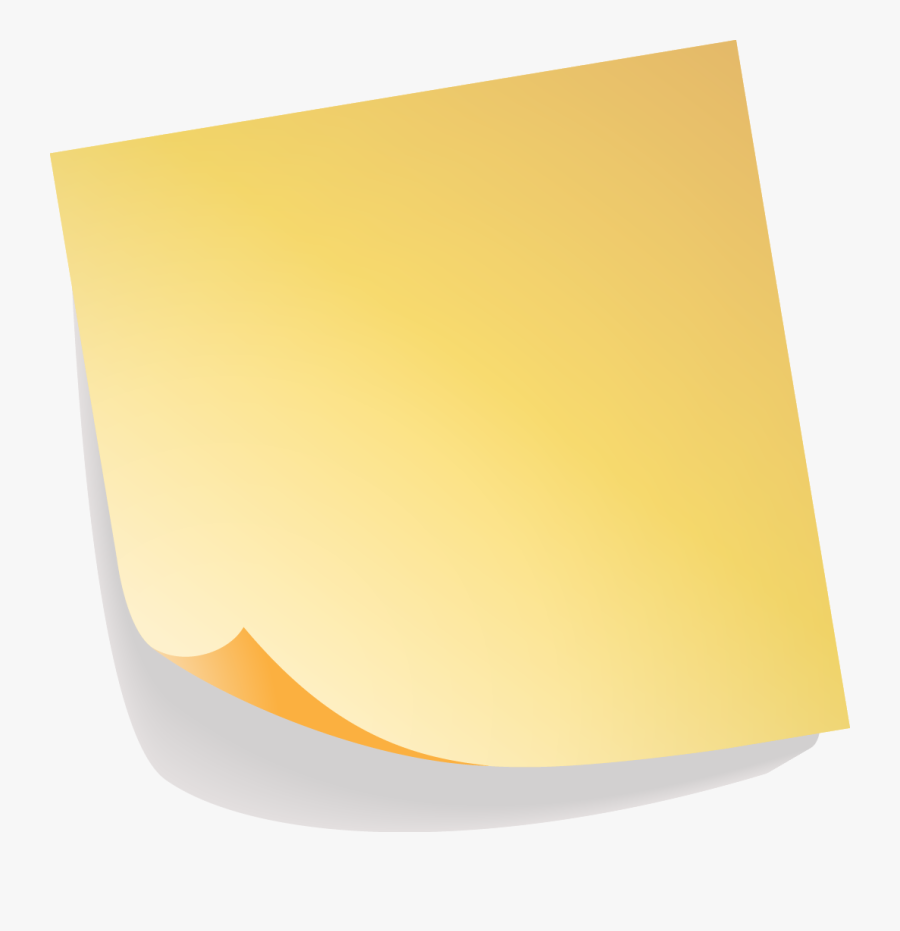 Sticky Clipart Posted Note - Sticky Notes Png, Transparent Clipart