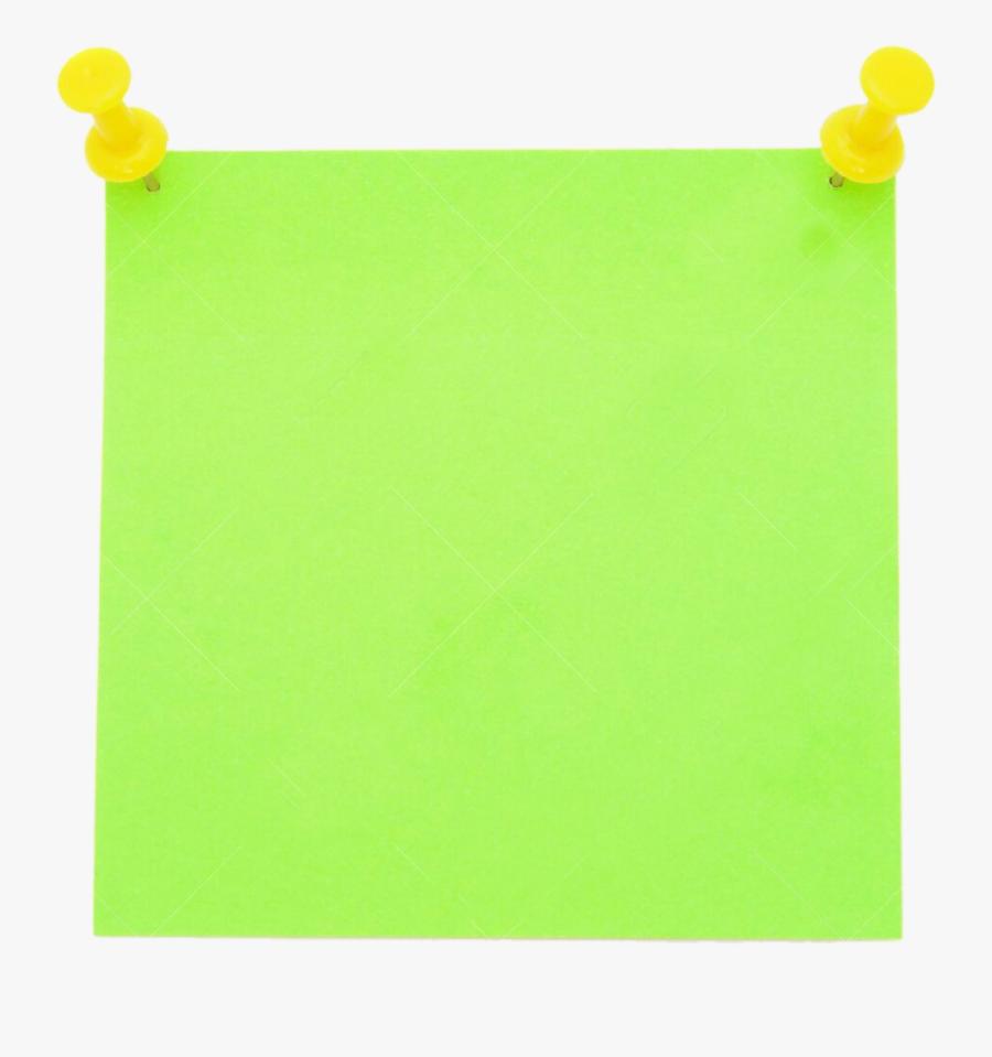 Post Postit Post It Green Paper Office Business - Construction Paper, Transparent Clipart