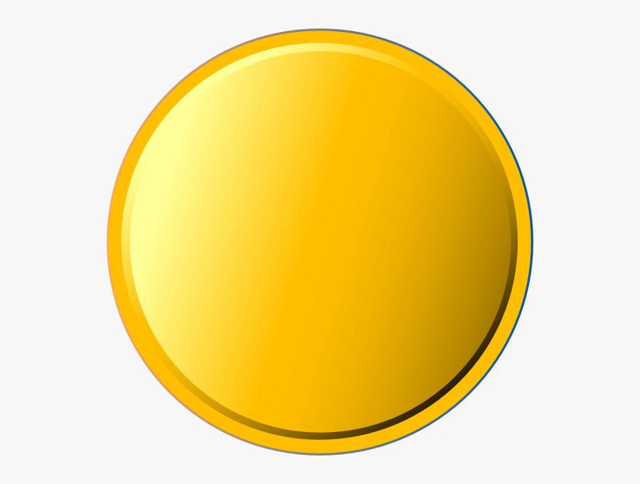 Transparent Stickers Clipart - Gold Round Sticker Png, Transparent Clipart