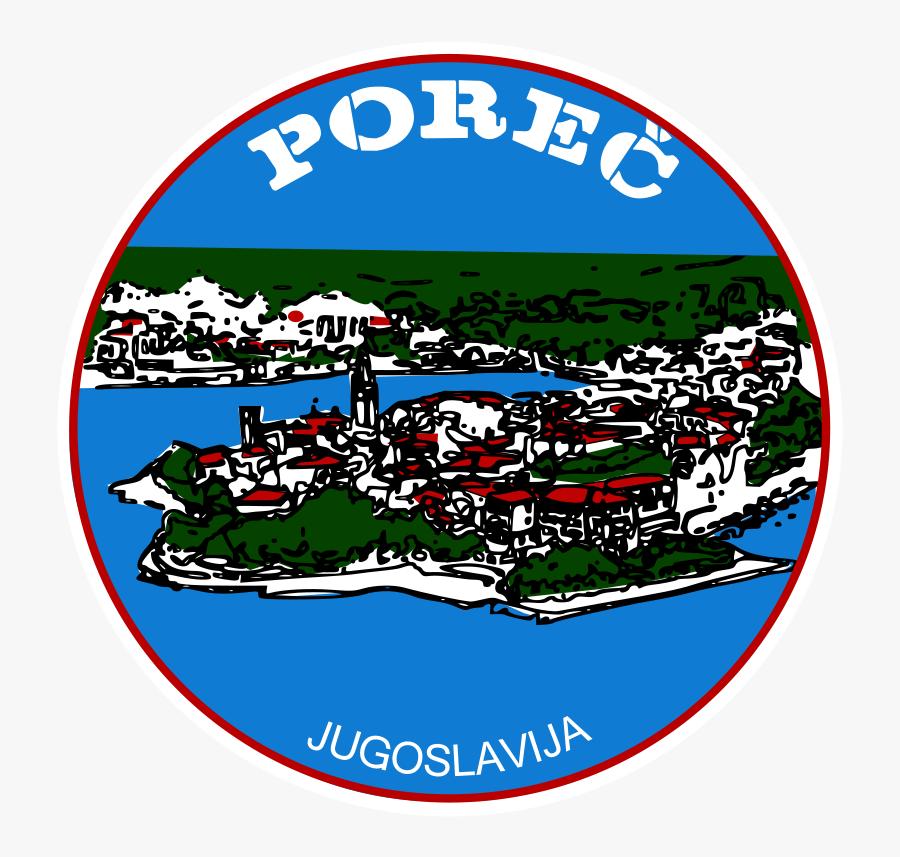 """Free Clip Art """"sticker Porec - Porec Sticker, Transparent Clipart"""