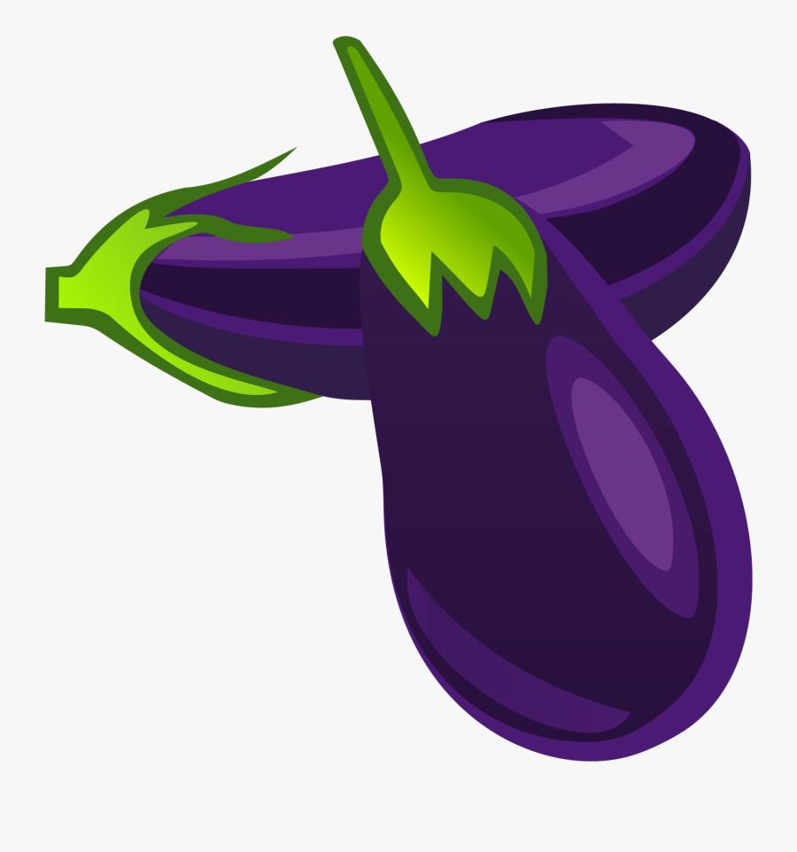 Eggplant Clipart Vector - Clipart Eggplant, Transparent Clipart