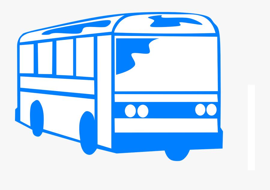 Shuttle School Free Vector - Bus Clipart Black And White Transparent, Transparent Clipart