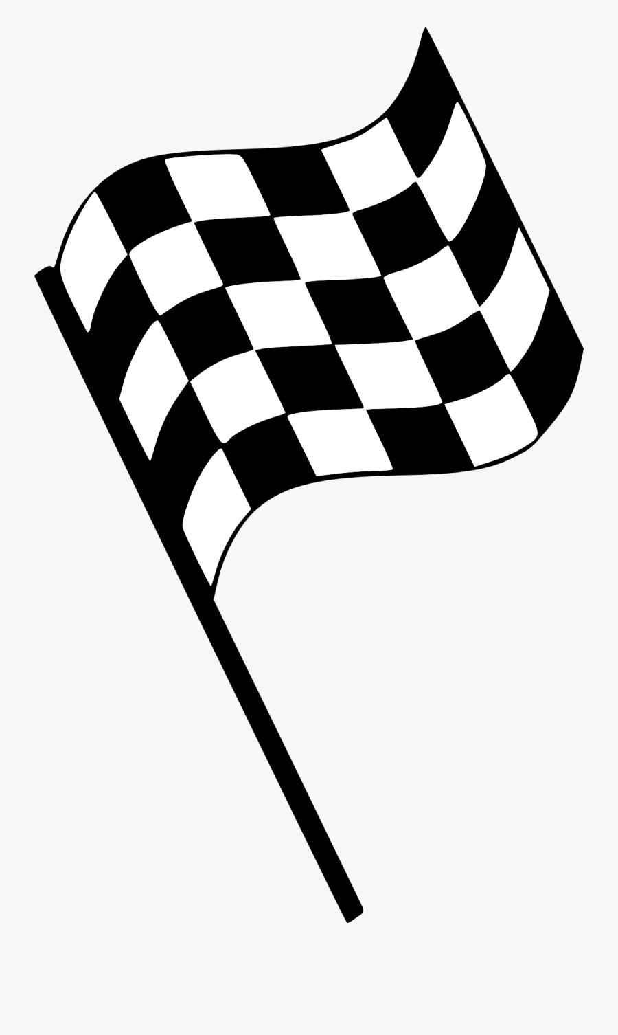 Finish Line Flag Clipart - Finish Line Flag Png, Transparent Clipart