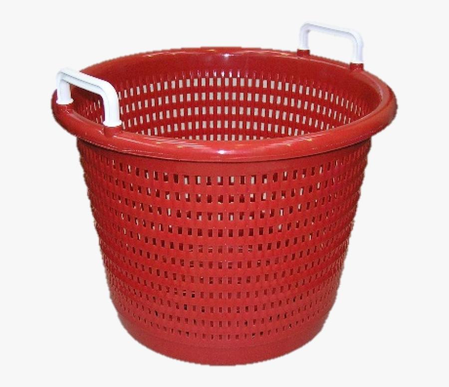 Transparent Laundry Basket Png - Fish Crates Laundry Basket, Transparent Clipart
