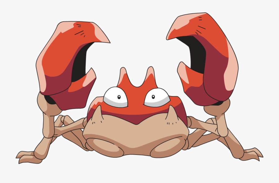 Crabs Clipart Giant Crab - Pokemon Krabby, Transparent Clipart