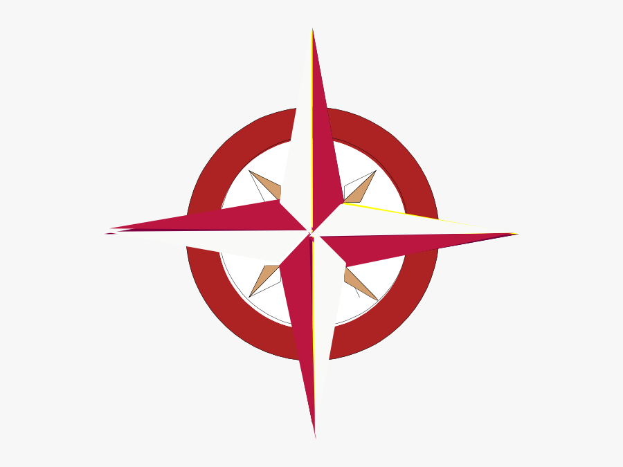 Compass Points In Russian, Transparent Clipart