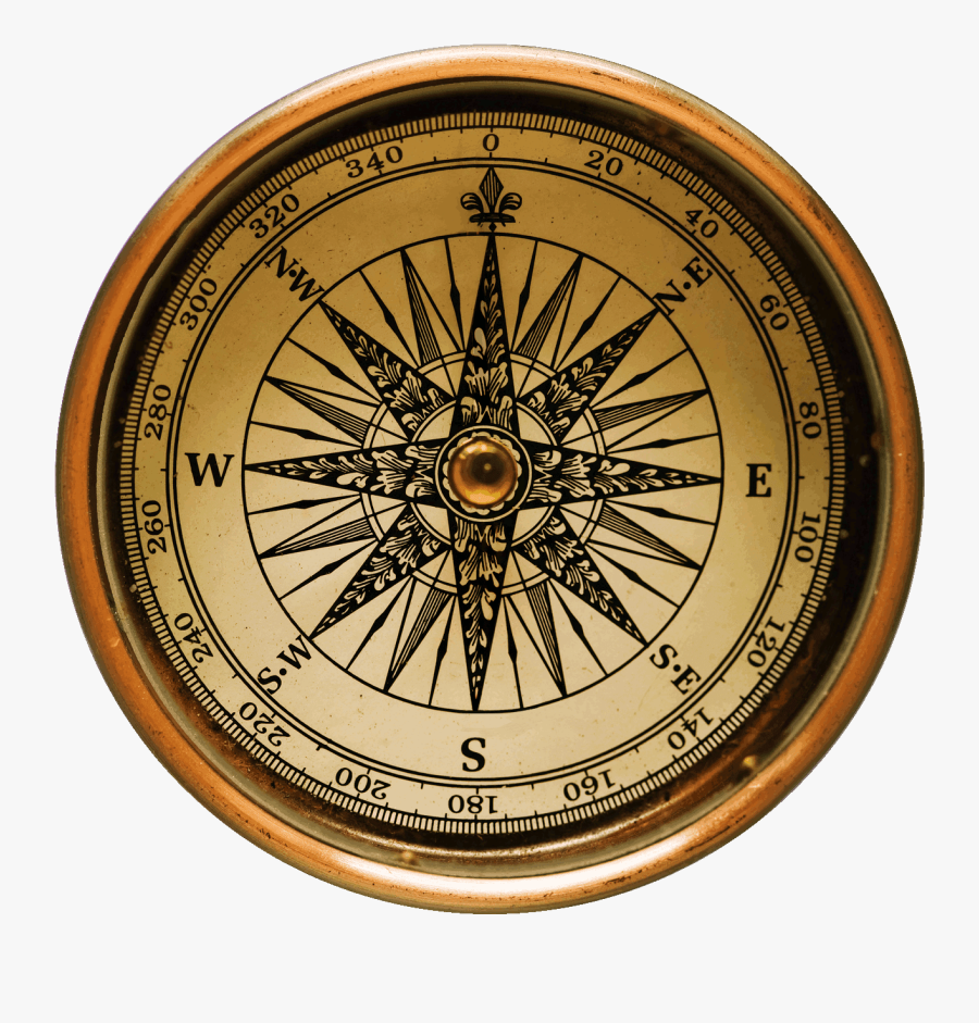 Compass, Old Virginia Blog Artifact Relic Recovery - Old Compass, Transparent Clipart