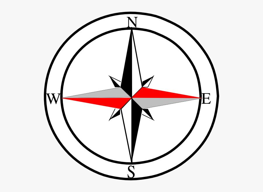 North East South West Symbol, Transparent Clipart