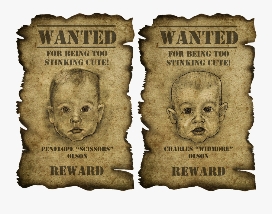 Photo Template For A Wanted Poster Images - Wanted Poster, Transparent Clipart