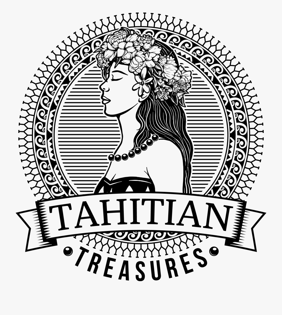 Tahitian Treasure - Polynesian Logo Design, Transparent Clipart