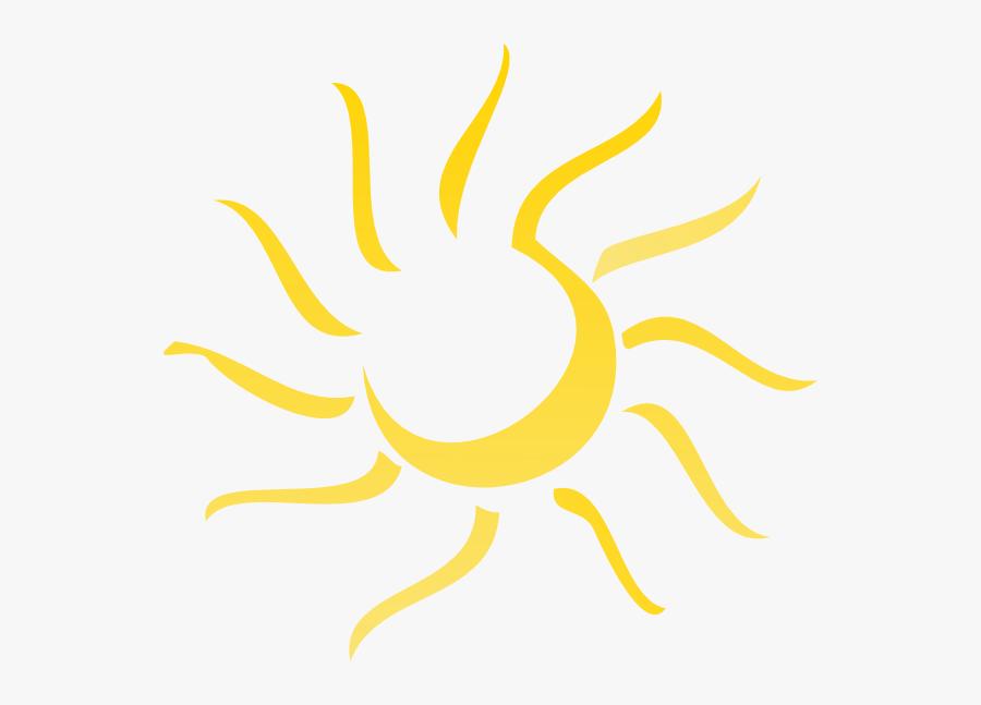 Transparent Sun Png Transparent - Abstract Sun Vector Png, Transparent Clipart