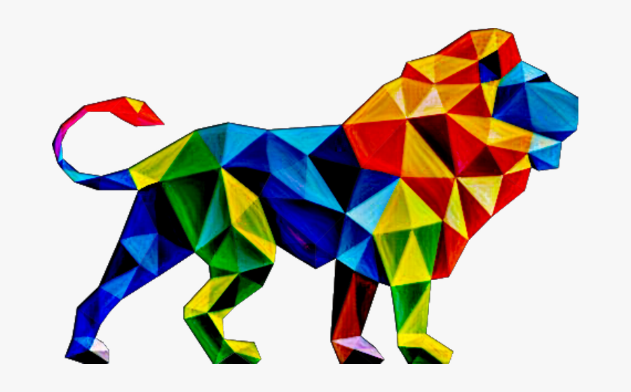 Lion Abstract Png Hd Clipart , Png Download - Graphic Designing Ads, Transparent Clipart