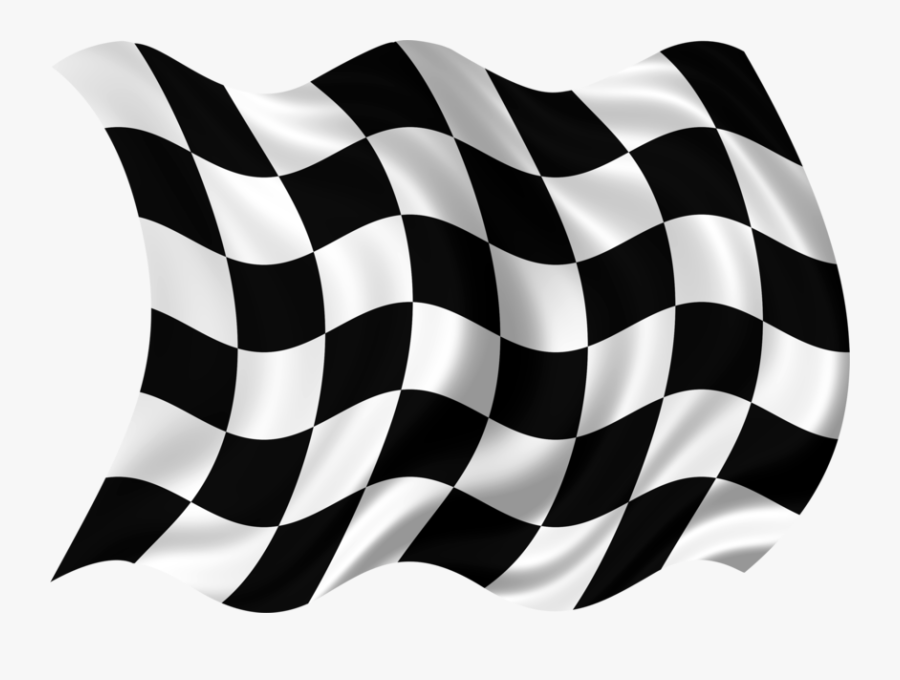 Racing Flag High-res - Finish Line Flag Png, Transparent Clipart