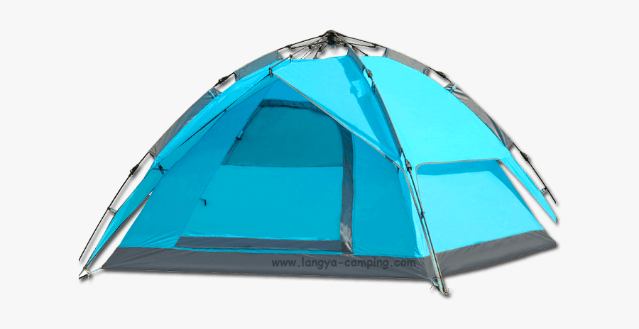 Easy Up Tent - Camping Tent Transparent Background, Transparent Clipart