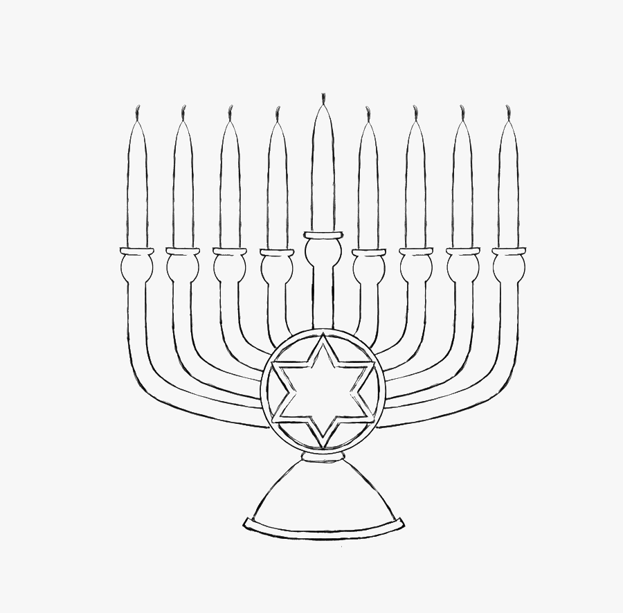 Hanukkah Coloring Pages Free Transparent Clipart Clipartkey